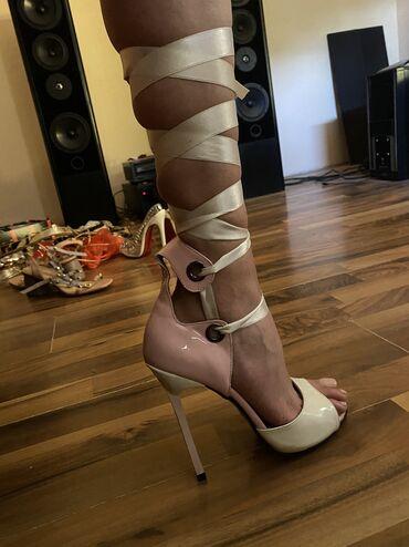 La Viva exclusive sandale 38 broj, gaziste 24,5cm. Nove su skroz imaju