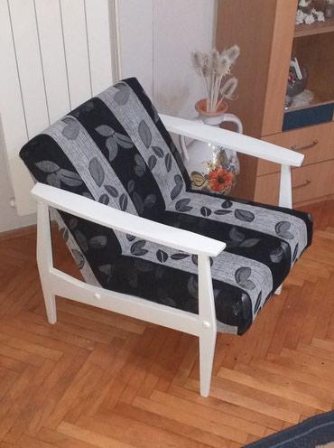 Retro fotelje br 4, unikatne I retke , za baste, kafice i kuce. - Belgrade