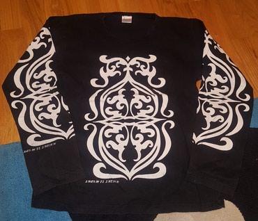 Dux majica dugih rukava crna sa belim detaljima iz Egipta - Sharm el - Belgrade