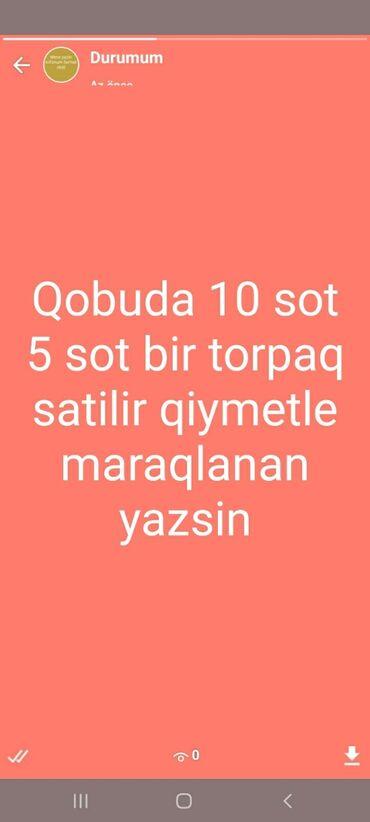 qobuda torpaq satilir - Azərbaycan: Satılır 10 sot Tikinti mülkiyyətçidən