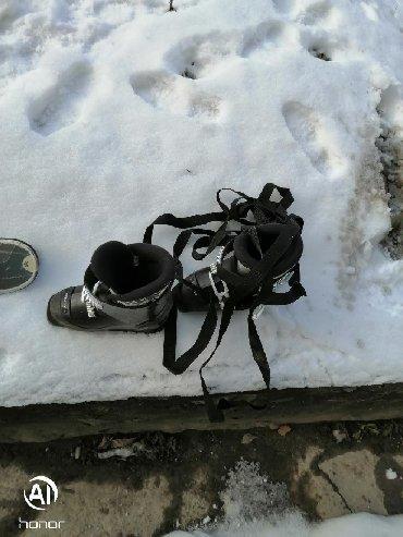 Decije skije - Srbija: Decije skije duz, 100 cm, sa vezovima, cizme, naocare, sve za