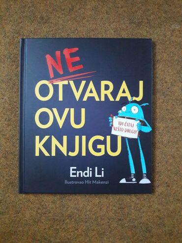 Dvd za auto - Srbija: NOVA - Zabavna knjiga za decu `` Ne otvaraj ovu knjigu `` Lepa knjiga