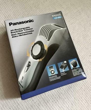Часы strong durable - Кыргызстан: Panasonic Машинка для стрижки ER 221 S 503 В упаковкеМашинка ER 221 S