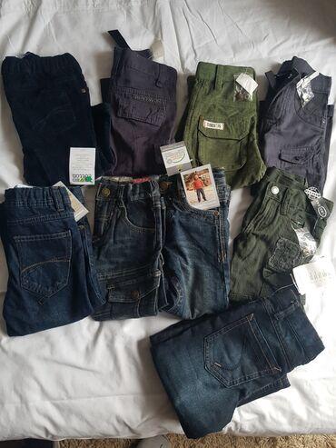 Pantalone eur - Srbija: Farke i termo farke,pantalone nove 92 br,neke su placene 25 eur
