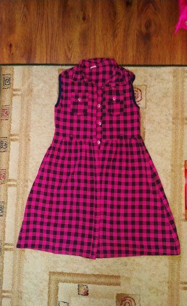 платья рубашки оверсайз в Кыргызстан: Платье рубашка на девочку 8-11 лет, зависит от ребенка Турция, новое