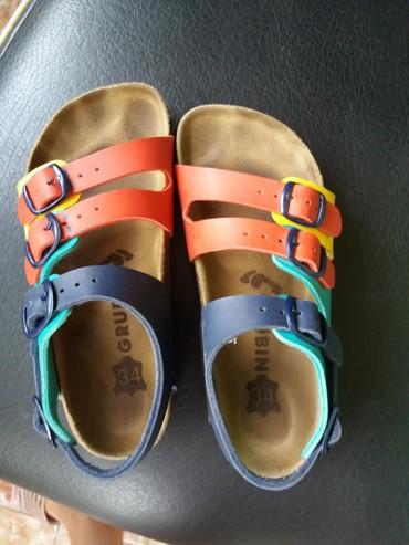 Dečije Cipele i Čizme | Leskovac: Grubin sandale vel.34  Dva puta prosetane sandale. kao nove