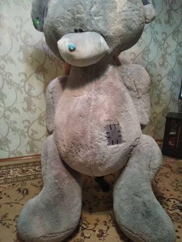 Продаю мягкую игрушку. Рост примерно 2.10 м. Масса около 25-30 кг. Со