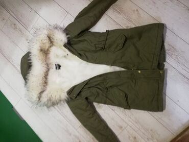 Dsquared duks m - Srbija: Original zenska jakna Parka Bez mana nosena par puta kao nova, velicin