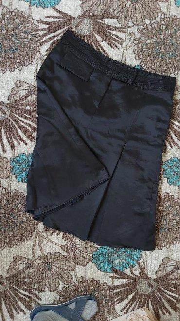 Duzina struk suknja - Srbija: Prelepa crna suknja Duzina 66cm Struk 44cm