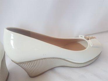 Почти новые летние туфли. Одевала в Бишкек