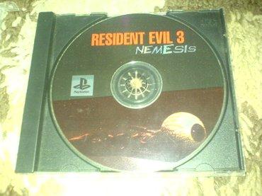 Bakı şəhərində Resident evil 3 oyunu playstation 1 ucun qiymet sondur