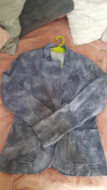 Sako-sa - Srbija: Sako jaknica vel .M sa elastinom strukiran Novo