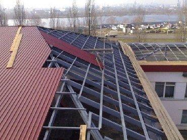 строительство в Кыргызстан: Крыша(демонтаж и монтаж кровли)