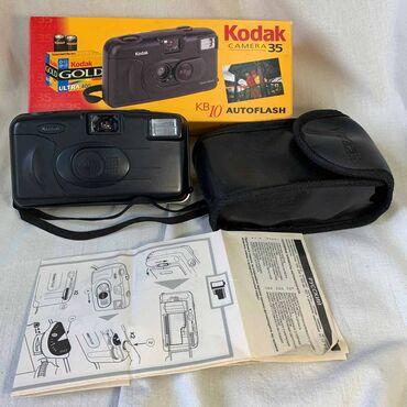 kodak kb10 в Кыргызстан: Фотоаппарат Kodak KB-10. Фотоаппарат полуавтоматический c компактной ф
