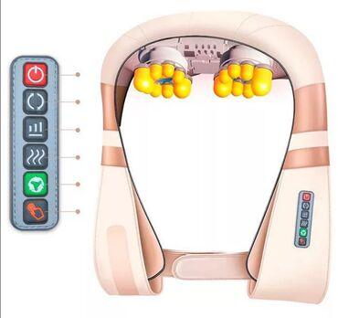 ортопедические подушки для шеи в Кыргызстан: Массажере спины и шеи YD-8018 с высокой температурой и глубоким