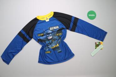 Топы и рубашки - Новый - Киев: Дитячий лонгслів з принтом Бетмену Lego, вік 10-12 р.    Довжина: 54 с