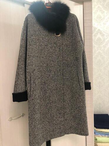 sapogi zhenskie 40 razmer в Кыргызстан: Продаю пальто, Турция. Мех натуралка. Размер 38-40