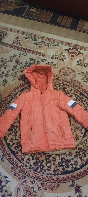 Отдам куртку на мальчика 7-9 лет.за два литра масло