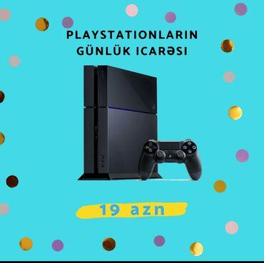 anbarın icarəsi - Azərbaycan: Playstationların günlük icarəsi sadəcə 19 AZN!