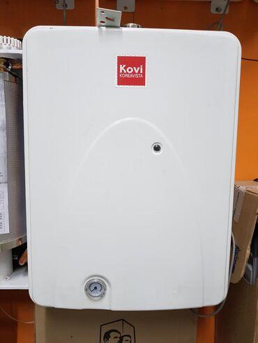 KOVI-первый в Корее энергосберегающий электрический 2-х контурный коте