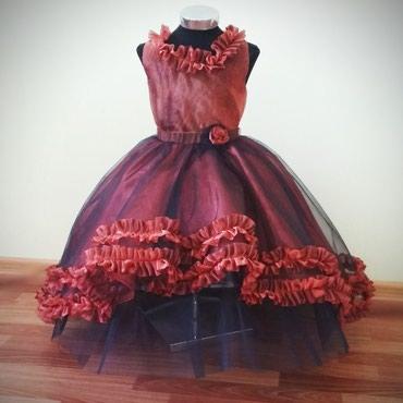 Очень пышное детское платье в Беловодское