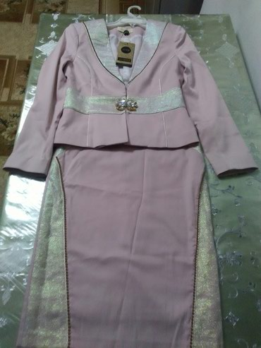 Костюм женский. цвет персик. размер 40. в Bakı