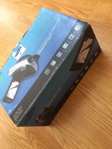 Samsung VP-DX 100i kamera. 2008 model, Diskle iwleyir. Yenidir