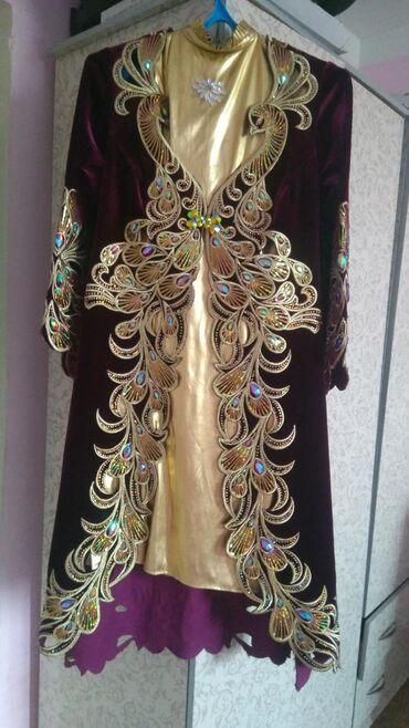Платья - Джалал-Абад: Продаю,город Джалал-Абад! Весь комплект . Одевала два раза. Шикарно