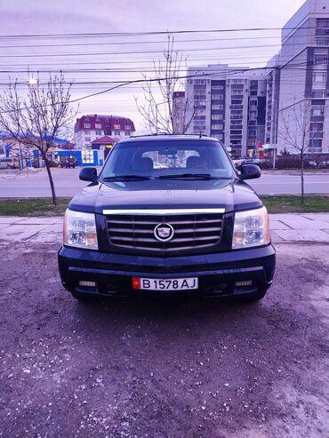 Автомобили - Кыргызстан: Cadillac Escalade 6 л. 2002