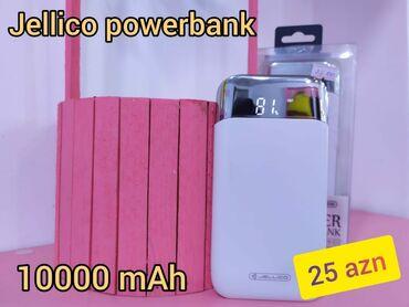 Jellico Powerbank 10.000mAh