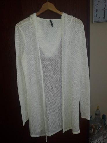 Prelep ogrtac..beli..donet iz Italije - Pancevo