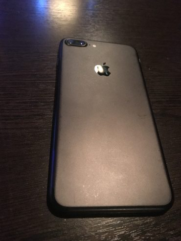 Iphone 7+/128 black mate   в Бишкек