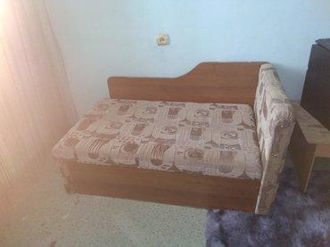 Продаю кровать в хорошем состоянии цена 1500 односпальная в Бишкек