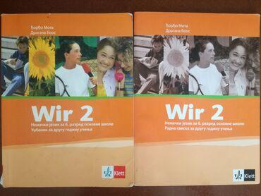 Bez - Srbija: Wir 2 - nemački za 6. razred, Klett ca CD-omKnjige su oćuvane, potpuno