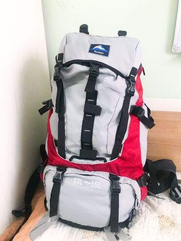 офицерский ремень в Кыргызстан: Походный рюкзак для туристов для трекинга, кемпинга. Супер огромный и