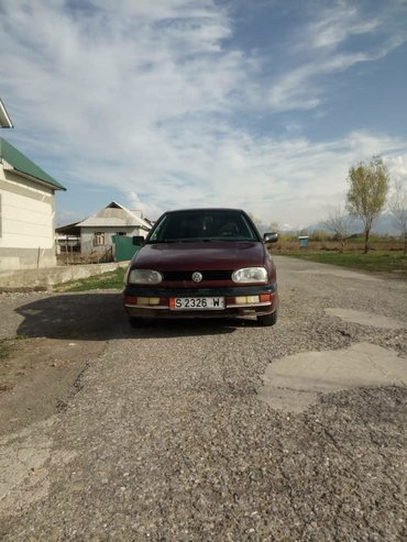 volkswagen golf 2 в Кыргызстан: Volkswagen Golf 1991