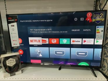 led paneli kvadratnye в Кыргызстан: Телевизоры TCL Андроид tv   TCL 40 дюм 102 см диогональ Смарт тв анд
