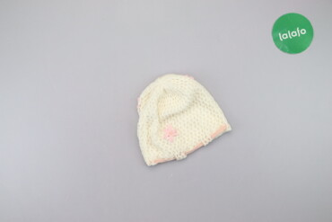 Детский мир - Украина: Дитяча шапка з квіточками   Довжина: 18 см Напівобхват голови: 20 см