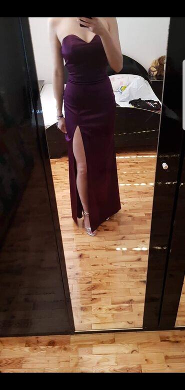 NOVA dugacka haljina Elegantna, uz telo, radjena po meri odgovara S i