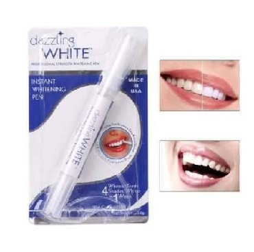 Gelovi-za-nokte - Srbija: Olovka za izbeljivanje zuba Dazzling WhiteCena:700dinPotpuno prirodna