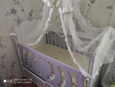 3ilin vezyeti əla icində matrası üstündə pərdəsi