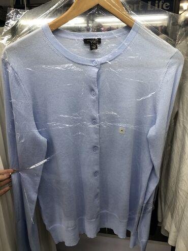 Свитер ANNTAYLOR нежно голубого цвета последний размер М Цена со