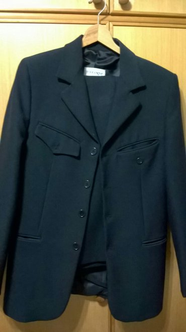 Muško odelo terranova,crne boje,veličina s. Obučeno je par puta,u - Belgrade