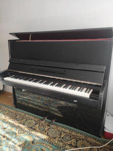 репетитор пианино в Кыргызстан: Пианино  Продаю пианино.  Немного потертое, в целом состояние хорошее