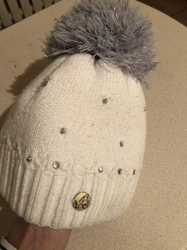 Польская шапка на девочку от 3х до 6ти лет в отличном состоянии