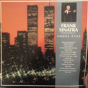 isma angel - Azərbaycan: Пластинка «Frank Sinatra - Angel eyes»