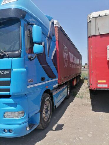 покупка грузового автомобиля в Кыргызстан: Продаю DAF XF105 2013года Автомат прицеп Schmitz 2007 года Стондарт са