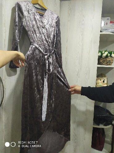 летнее платье с запахом в Кыргызстан: Платье на запах интересный фасон очень хорошо сидит материал приятный