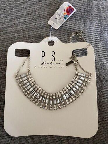 P.S. srebrna ogrlica Nova