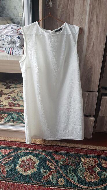 Продаю новое белое платье 🥰Сидит очень шикарно размер 46 48 отдам за